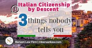 Italian-Citizenship-by-Descent-application-3-secrets