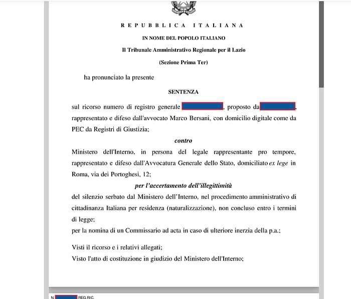 ricorso-cittadinanza-italiana-rigetto-tar